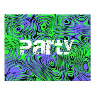 Invitaciones adolescentes de la fiesta de cumpleañ