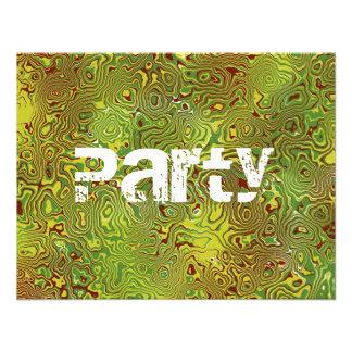 Invitaciones adolescentes del fiesta de los muchac anuncio