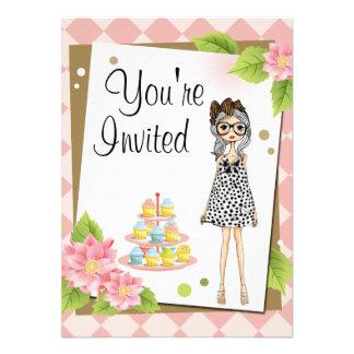 Invitaciones adolescentes elegantes de la fiesta d invitaciones personalizada