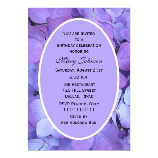 Invitaciones adultas de la fiesta de cumpleaños -- comunicado