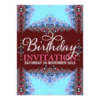 Invitaciones adultas del cumpleaños del cordón comunicados personales
