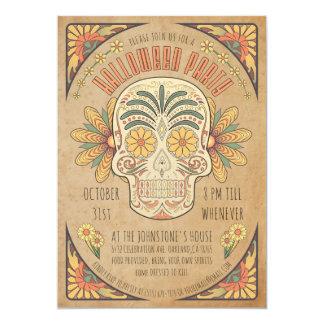 Invitaciones al sudoeste del fiesta de Halloween Invitación 12,7 X 17,8 Cm