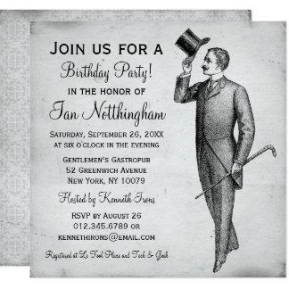 Invitaciones apuestas de la fiesta del cumpleaños