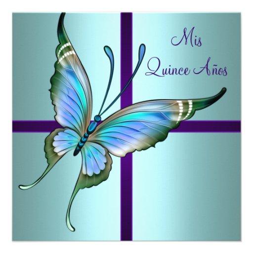 Fondos de imagenes de mariposas azul para tarjetas de 15 años - Imagui