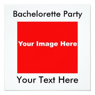 Invitaciones básicas del fiesta de Bachelorette Comunicado Personal