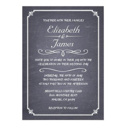 Invitaciones blancos y negros del boda de la pizar invitacion personal