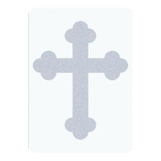 Invitaciones cristianas del acontecimiento social invitación 12,7 x 17,8 cm
