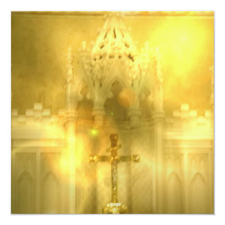 Invitaciones cruzadas cristianas anuncios personalizados
