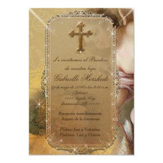 invitaciones de bautizo, invitaciones del bautismo invitación 12,7 x 17,8 cm