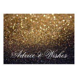Invitaciones de boda del consejo y de los deseos - tarjetas de visita grandes