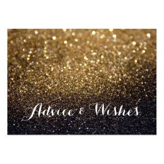 Invitaciones de boda del consejo y de los deseos tarjetas de visita grandes