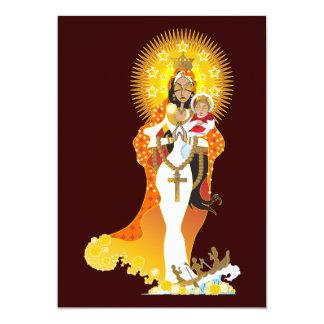 Invitaciones de Cobre del del de La Virgen de la Anuncio Personalizado