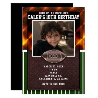 Invitaciones de encargo de la fiesta de cumpleaños