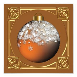 Invitaciones de encargo de la fiesta de Navidad Invitación 13,3 Cm X 13,3cm