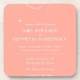 Invitaciones de encargo del boda
