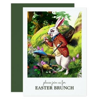 Invitaciones de encargo del brunch de Pascua del