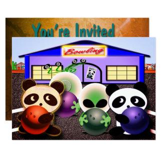Invitaciones de encargo del fiesta de los bolos invitación 12,7 x 17,8 cm