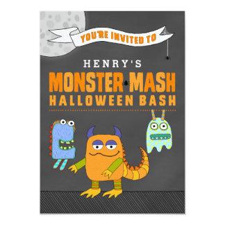 Invitaciones de encargo del golpe de Halloween del Invitación 12,7 X 17,8 Cm