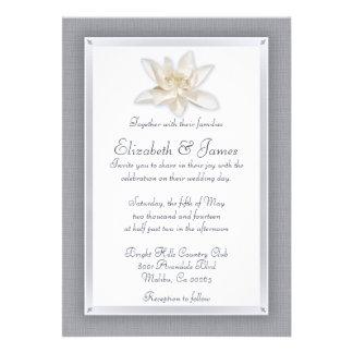 Invitaciones de la bodas de plata