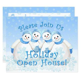Invitaciones de la casa abierta del día de fiesta