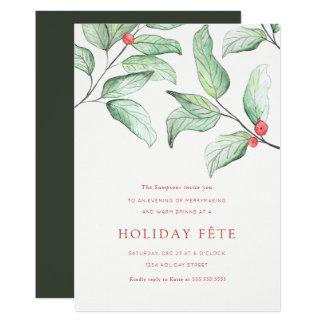 Invitaciones de la celebración de días festivos de invitación 12,7 x 17,8 cm