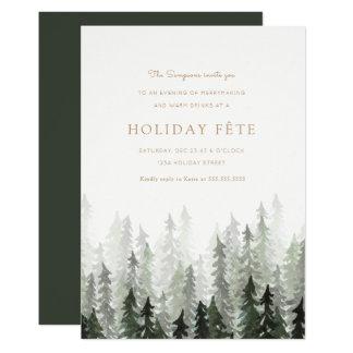 Invitaciones de la celebración de días festivos invitación 12,7 x 17,8 cm