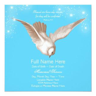 Invitaciones de la ceremonia conmemorativa de la invitación 13,3 cm x 13,3cm