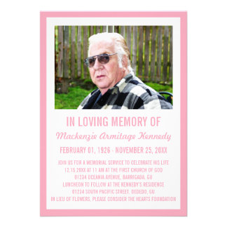 Invitaciones de la ceremonia conmemorativa o del e invitación personalizada