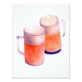Invitaciones de la cerveza - la cerveza invita invitación