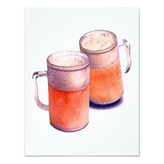 Invitaciones de la cerveza - la cerveza invita comunicado personal