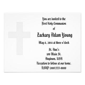 """Invitaciones de la """"cruz"""" comunicado personal"""