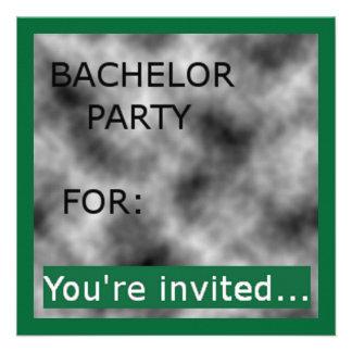 Invitaciones de la despedida de soltero (10) invitación