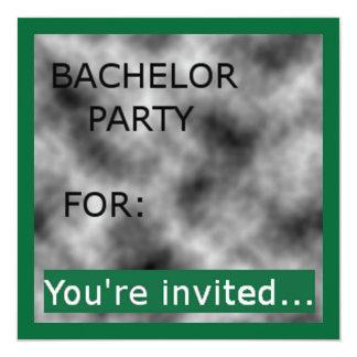 Invitaciones de la despedida de soltero (10) invitación 13,3 cm x 13,3cm