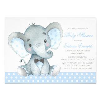 Invitaciones de la ducha del bebé del elefante