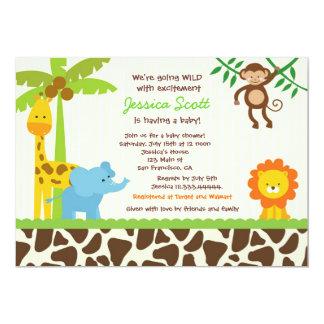 Invitaciones de la fiesta de bienvenida al bebé invitación
