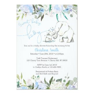 Invitaciones de la fiesta de bienvenida al bebé