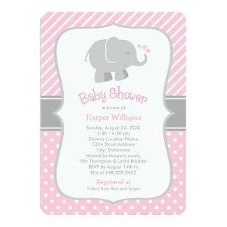 Invitaciones de la fiesta de bienvenida al bebé comunicado personalizado