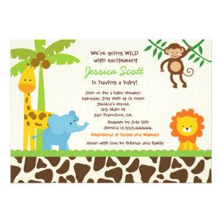 Invitaciones de la fiesta de bienvenida al bebé de invitación