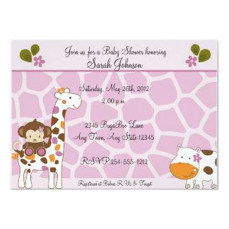 Invitaciones de la fiesta de bienvenida al bebé de invitación 11,4 x 15,8 cm
