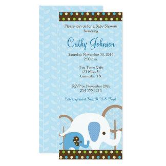 Invitaciones de la fiesta de bienvenida al bebé invitación 10,1 x 23,5 cm