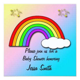 Invitaciones de la fiesta de bienvenida al bebé invitación 13,3 cm x 13,3cm