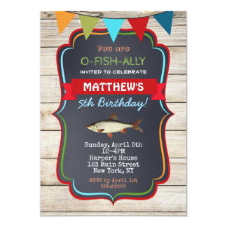 Invitaciones de la fiesta de cumpleaños de la