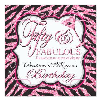 Invitaciones de la fiesta de cumpleaños de la comunicado