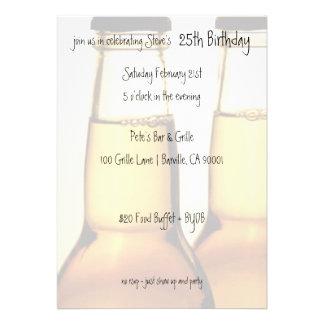Invitaciones de la fiesta de cumpleaños de la bote invitaciones personales