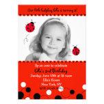 Invitaciones de la fiesta de cumpleaños de la foto anuncios