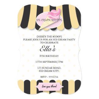 Invitaciones de la fiesta de cumpleaños de la sala invitación 12,7 x 17,8 cm