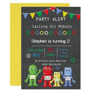 Invitaciones de la fiesta de cumpleaños de los