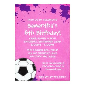 Invitaciones de la fiesta de cumpleaños del balón invitación 12,7 x 17,8 cm
