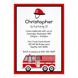 Invitaciones de la fiesta de cumpleaños del coche