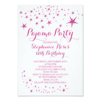 Invitaciones de la fiesta de cumpleaños del fiesta invitación 12,7 x 17,8 cm